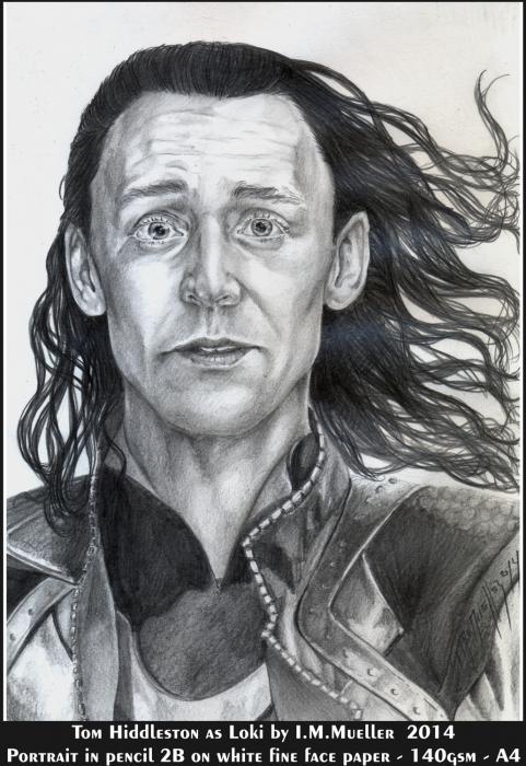 Tom Hiddleston by immueller